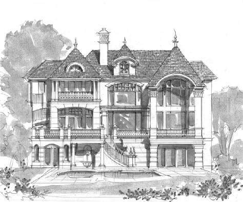 french gothic house plans luxury house plans gothic 171 floor plans