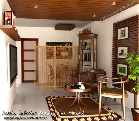 desain interior ruang tamu dengan kursi kayu contoh desain ruang tamu minimalis 3x3 m
