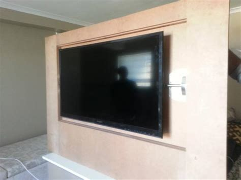 custom flip wall panel hidden tv doityourselfcom
