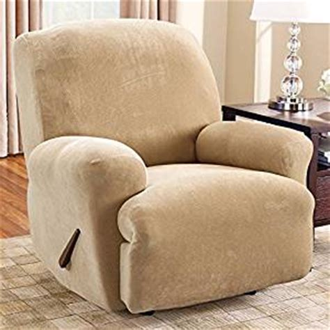 oversized recliner slipcover com sure fit lift recliner slipcover large