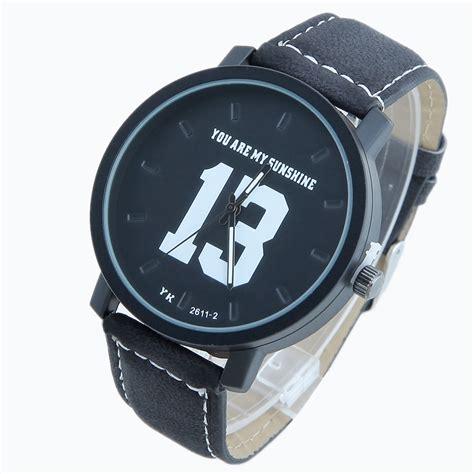 Jam Tangan Analog Kulit 1605 Bagus Dan Keren jam tangan sporty analog kulit white jakartanotebook