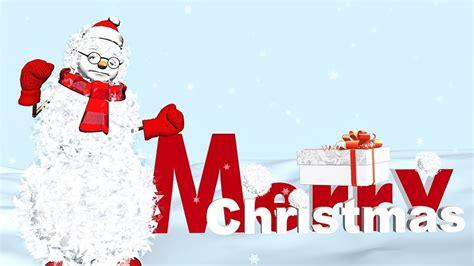 funny merry christmas  animation christmas song youtube