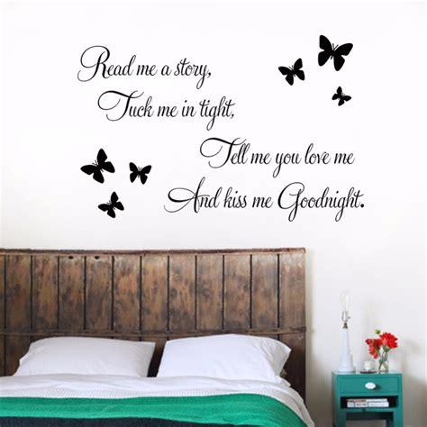 vou decorar em ingles diy sentences me goodnight butterfly wall home