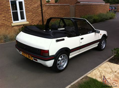 warwick wright peugeot peugeot 205 cti automatic only 10 made 1 9 gti