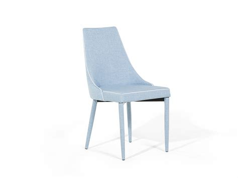 chair dining chair tulip armless upholstered light blue ebay