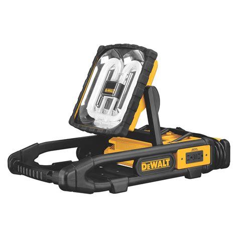 Dewalt Cordless 18v Area Site Light And De9503 Battery Cordless Lights