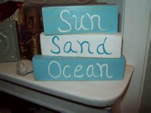decor sand shabby decor sun sand shelf by julieannascreations