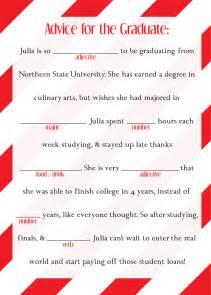 Graduation mad libs ad lib college high school by designsbytenisha