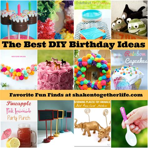 Good Party Themes | the best diy birthday ideas ever