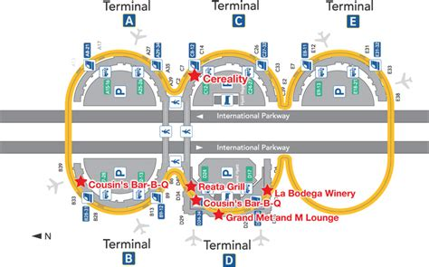 map of dallas airport eater archives airport dining guides page 7