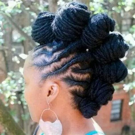 twisted knot hairstyles for african women jazzy mohawk hairstyles for black women hairstyles 2017