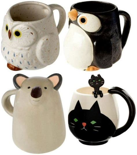 animal coffee mugs animal tea cups mugs cups tacitas pocillos