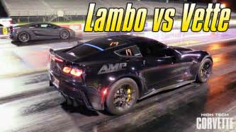 Lamborghini Corvette How S A Turbo Gallardo Do Against The World S Fastest