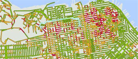 san francisco grade map san francisco grade map michigan map