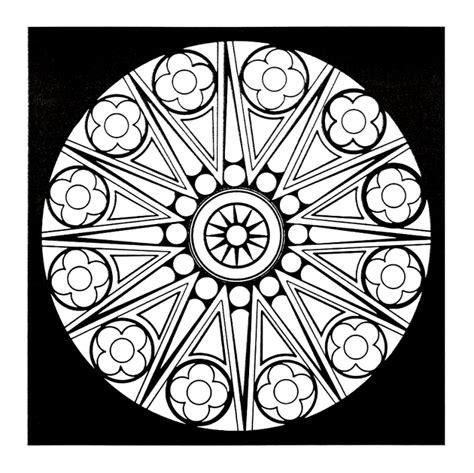 45 mandalas zum meditierenden ausmalen viele kirchenrosetten
