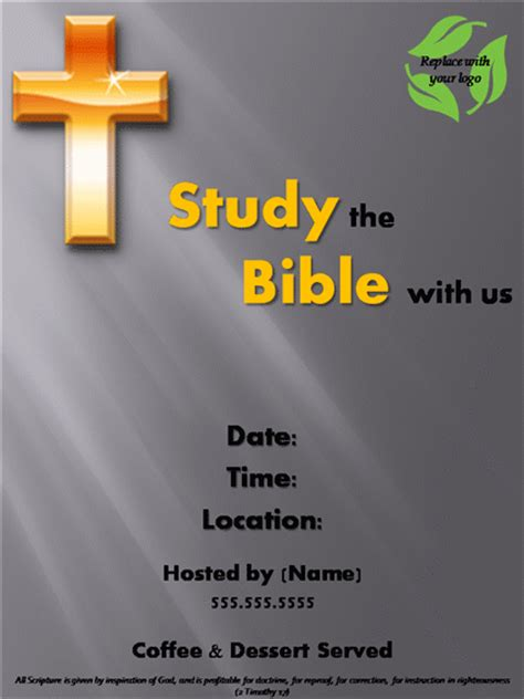 bible study flyer template free 8 best images of free printable bible study flyer bible