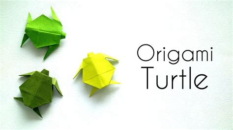 origami tutorial turtle origami animals tutorial origami turtle youtube
