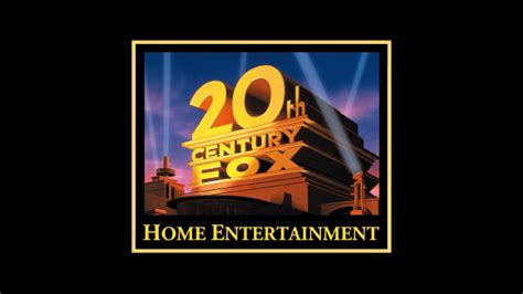 20th century fox home entertainment logo reversed