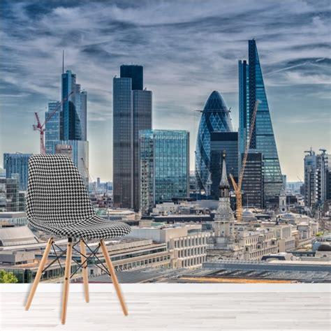 london aerial skyline wallpaper wall mural