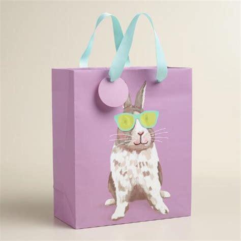 Happy Bunny Set Medium medium purple bunny gift bags set of 2 world market