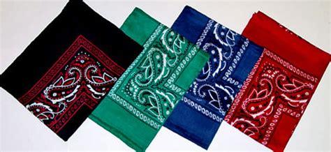 bandana color meaning bandana colors www pixshark images galleries