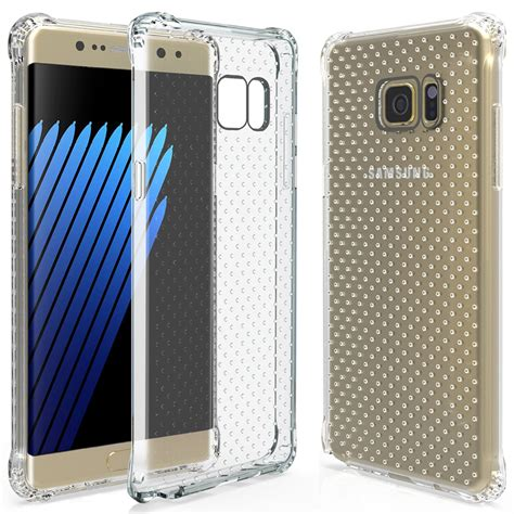 Samsung Note 4 Tempered Glass Shock Proof 03mm flexi shock air cushion samsung galaxy note 7 clear