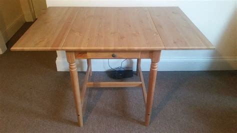 Ingatorp Drop Leaf Table Ikea Ingatorp Drop Leaf Table In Antique Stain In Southton Hshire Gumtree