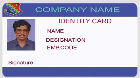 create your own id card messy times