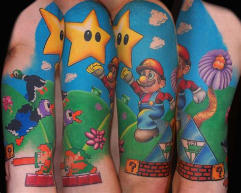 nintendo tattoo tattoos to ink or not to ink leviathyn