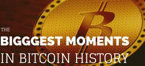 Bitcoin Merchant Services - the moments in bitcoin history