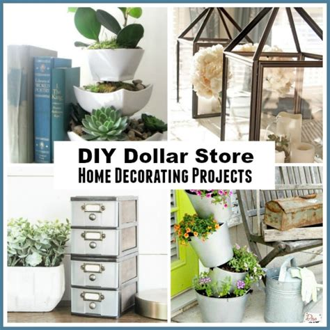diy projects home decor 11 diy dollar store home decorating projects a cultivated