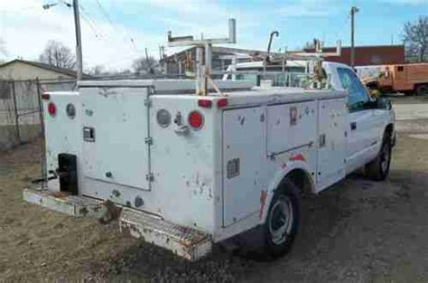 Truck Bed Gas Storage by Buy Used Service Truck Utility Bed Fiberglass Gas