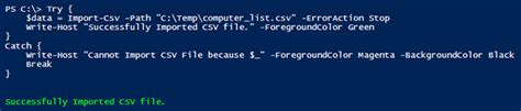powershell write host color talk tech to me how to write better powershell scripts