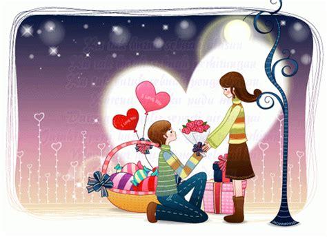wallpaper bergerak romantis gambar romantis kartun bergerak kumpulan gambar gambar