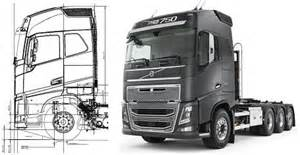 Volvo Truck Drawings Vbi