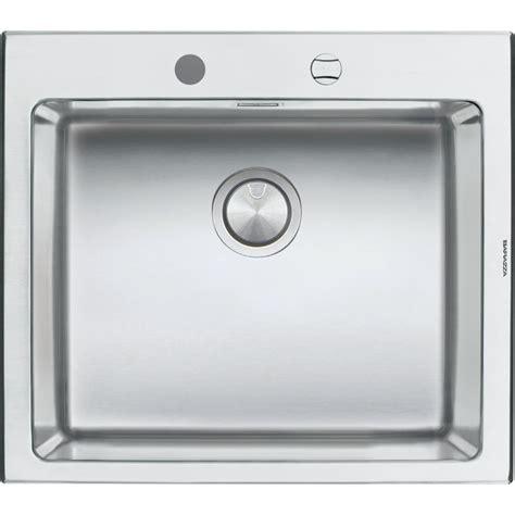 lavandini in acciaio per cucina barazza 1lbo61 lavandino da cucina per installazione flush