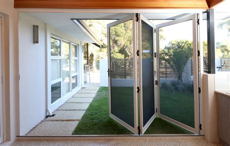 backyard door screen fitting patio doors home improvements what to consider