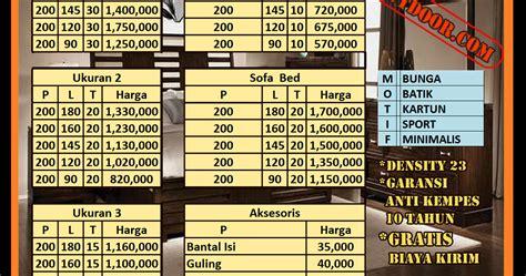 Kasur Inoac Bulan distributor resmi kasur busa inoac daftar harga resmi kasur busa inoac bulan september 2016 jakarta
