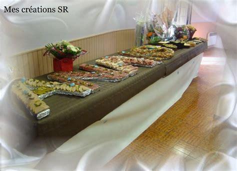 decoration de table pour buffet froid