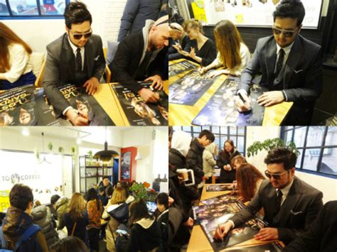 Guerrilla Signings by Tae Woo Surprises Fans With Guerilla Fan Signing Event