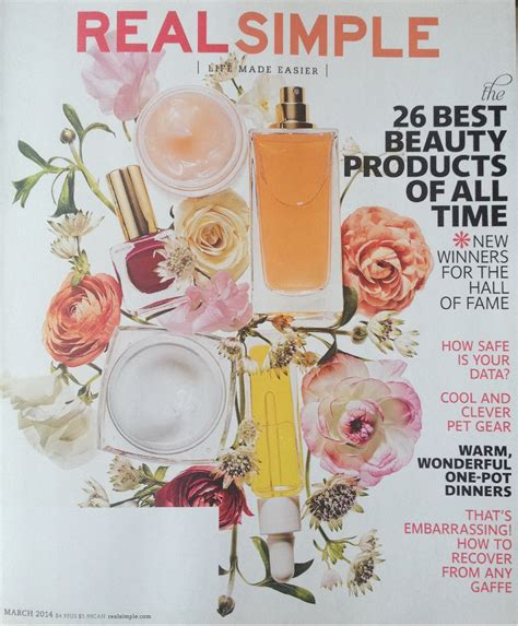 real simple magazine real simple magazine in the press real simple magazine
