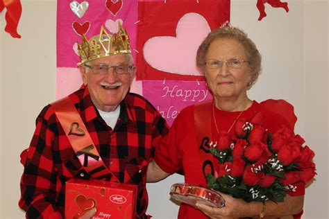 king valentines senior center names 2012 s day king and