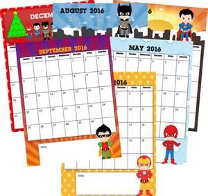 preschool calendar template printables free 2016 calendar
