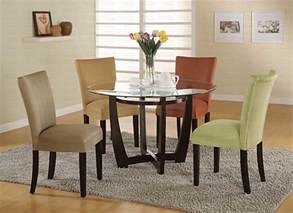 Modern Round Dining Room Sets Modern Round Dining Room Set Casual Dinette Sets
