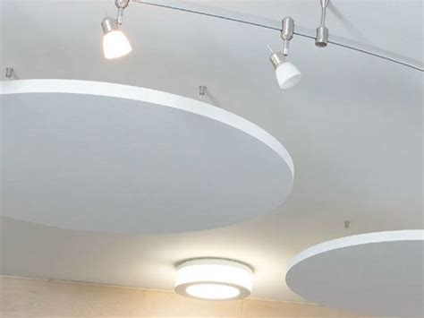 controsoffitto in cartongesso knauf isole acustiche in di roccia topiq 174 sonic element by