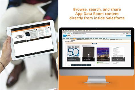 app data room modus engagement announces app data room on the salesforce appexchange the world s leading