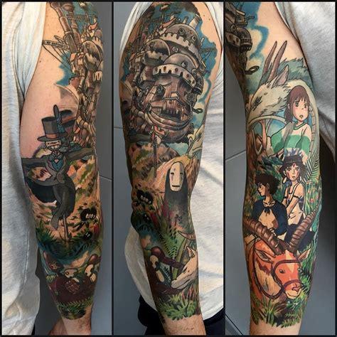 miyazaki tattoo quot miyazaki quot in progress ghibli world miyazaki