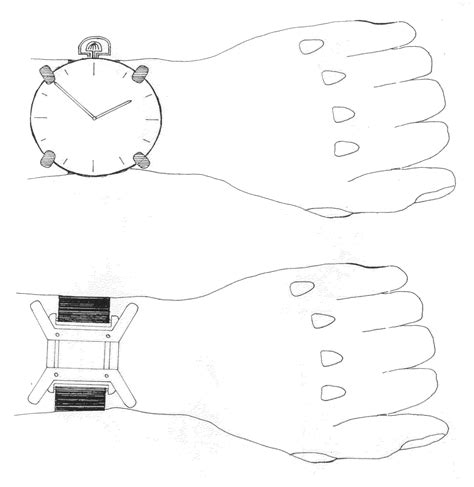 Patent US20120170428   Adaptor to wear a pocket watch on a wrist   Google Patents