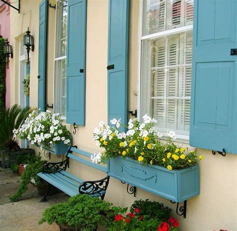 shutters and window boxes window boxes that match the shutters and flowers that