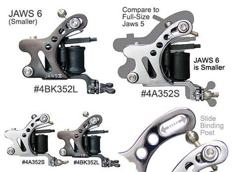 tattoo machine unimax 4a352 4bk352 unimax quot mini jaws6 quot
